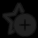 Star Add Icon