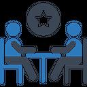 Star Feedback Business Meeting Meeting Icon
