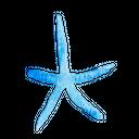 Star Fish Fish Sea Icon