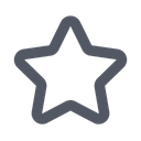 Star Outline Star Rating Icon
