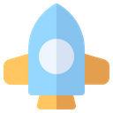Rocket Science Spaceship Icon