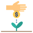 Startup Funding Investment Icon