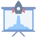 Startup Business Presentation Icon