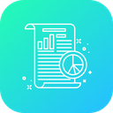Startup Business Report Icon