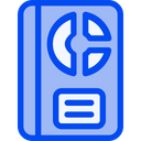 Stat Book Analytic Icon