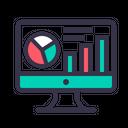Statics Analytics Market Icon