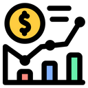 Statistic Finance Technology Icon