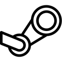 Steam Social Media Logo Logo Icon