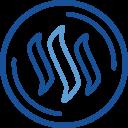 Steem Cryptocurrency Crypto Icon