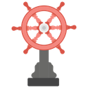 Ship Helm Boat Wheel Steering Wheel Icon
