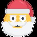 Stern Santa Icon