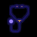 Stethoscope Doctor Device Icon