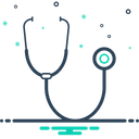 Stethoscope Healthcare Health Icon