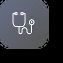 Stethoscope Medical Tool Icon
