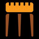 Stool Sitting Stool Furniture Icon
