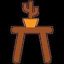 Stool Furniture Interior Icon