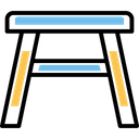 Bench Chair Seat Icon