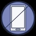 Stop Using Phone Icon