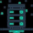Storage Database Interconnected Database Icon