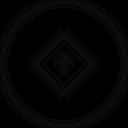 Straight Up Arrow Icon