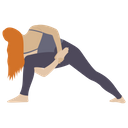 Stretch Muscle Exercise Icon