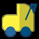 Baby Trolley Train Equipment Icon