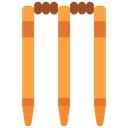 Cricket Stumps Stumps Cricket Equipment Icon