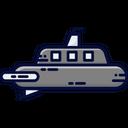 Submarine Miilitary Submarine Ocean Icon