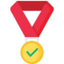 Sucessful Medal Prize Icon