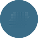 Sudan Country Map Icon