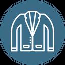 Suit Uniform Blazer Icon