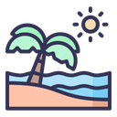 Summer Vacation Nature Icon