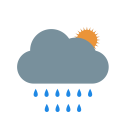 Summer Rain Clouds Icon