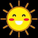 Sun Smile Happy Icon