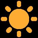 Sun Bright Rays Icon