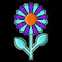 Sun Flower Plant Icon