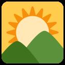 Sunrise Over Mountains Icon