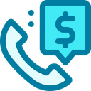 Support Call Service Icon