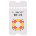 Support ticket Icon