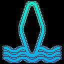 Surf Board Surfing Board Surfing Icon