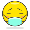 Surgical Mask Face Icon