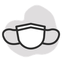 Surgical Mask Doctor Icon