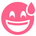 Pink Glyph Sweat Icon