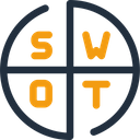 Swot Business Strength Icon