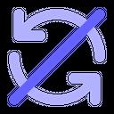 Sync-cancel Icon