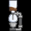 Syphon Drink Coffee Turkish Kitchenware Icon
