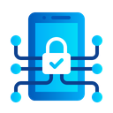 System Protection Security Device Mobile Icon