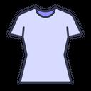 T Shirt Top Female Icon