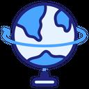 Table Globe Globe Geography Icon
