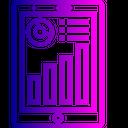 Tablet Tab Graph Icon